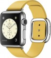 Apple - Apple Watch (first-generation) 38mm Stainless Steel Case - Marigold Modern Buckle Band – Medium